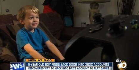 5-Year Old Kid Finds A Security Exploit On The Xbox One, Gets A Researcher Credit | Trriger Flash | Scoop.it