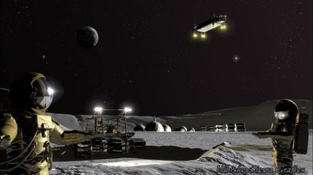 Plan to establish first lunar base and gas stations in space | Good news from the Stars | Scoop.it