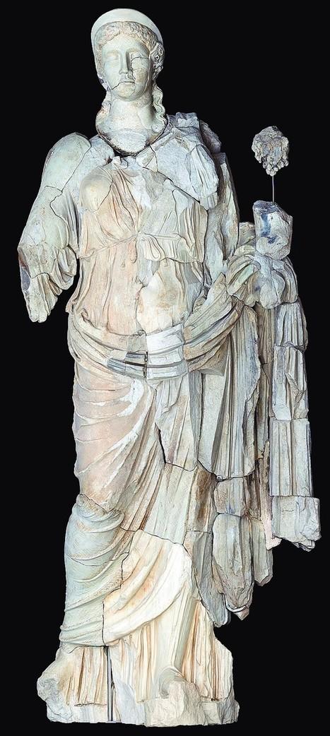 La escultura de la diosa Fortuna regresa a Clunia recompuesta | Centro de Estudios Artísticos Elba | Scoop.it