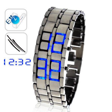 TRİPLESHOPPİNG: Ice Samurai - Japanese Inspired Blue LED Watch | tripleshopping | Scoop.it