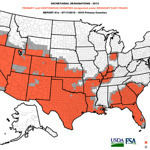 U.S. declares drought-stricken states largest natural disaster area ever | Vertical Farm - Food Factory | Scoop.it