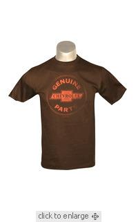 Vintage - Chevrolet Genuine Parts | Buy sunday funday tee vintage movie t- shirts | Scoop.it