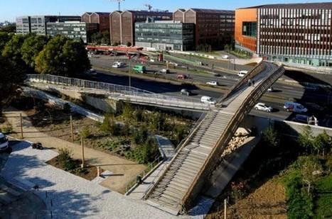 La passerelle de la ZAC Claude-Bernard s'ouvre au public - Réalisations | DVVD Architectes Ingénieurs Designers | Scoop.it