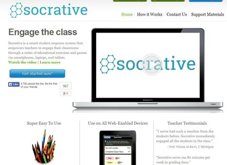 Socrative | E learning Tools for Functional English | Scoop.it
