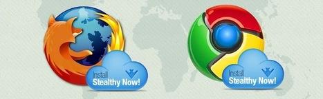 Stealthy – Une extension Chrome et Firefox pour accèder à des contenus bloqués | Korben | Libertés Numériques | Scoop.it