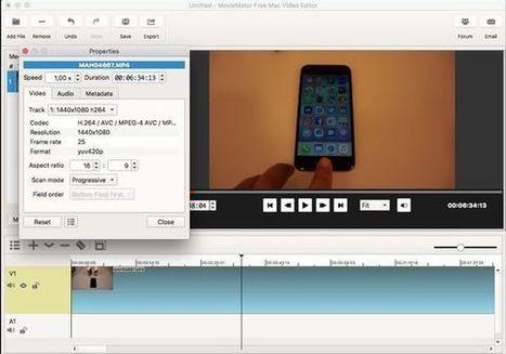 MovieMator Free Mac Video Editor | Riprendiamoci - Corso di tecniche di ripresa e video streaming dai mondi virtuali | Scoop.it