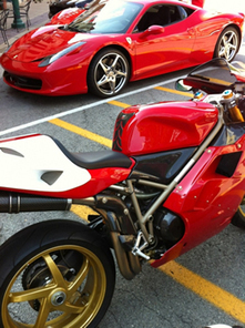 "IndyGP Friday Night Ducati Scene, ""Sprockets On Speedway 