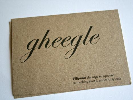 Unique love words   Paper Papel Papier (en)   Impresión Digital   Scoop.it