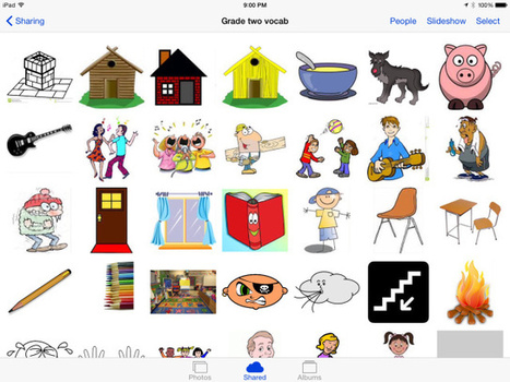 An Effective Visual Vocabulary iPad Lesson, done in Minutes - Teaching with iPad | Have iPad will Teach | Scoop.it
