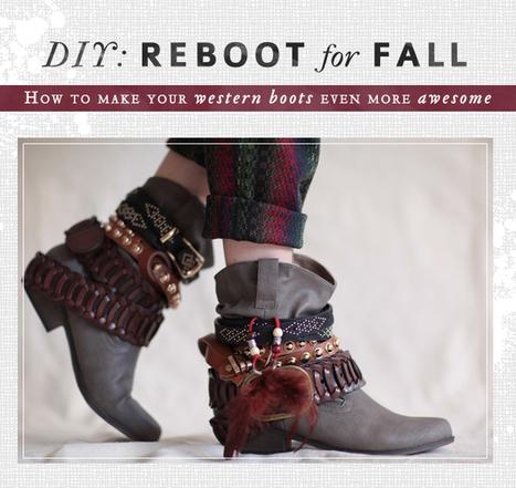 DIY: Reboot for Fall | threadsence.com | Fashion Fetish | Scoop.it