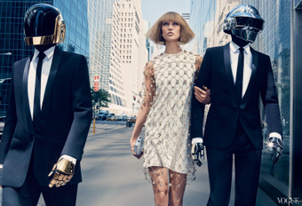 Karlie Kloss & Daft Punk for Vogue   Daft Punk   Scoop.it