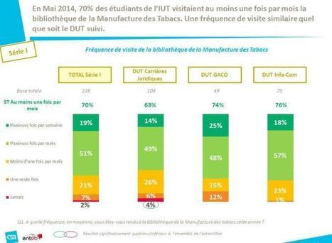 Une bibliothèque 100 % numérique à l'IUT Lyon 3 : étude des pratiques et usages documentaires numériques | Enssib | Libraries | Scoop.it