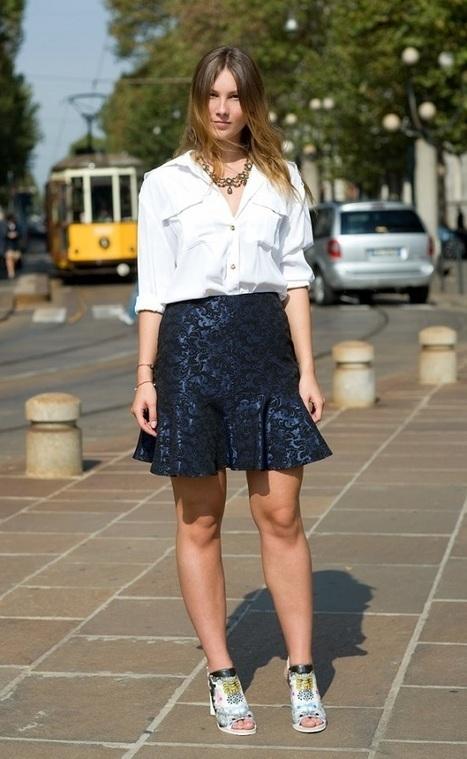 Time for Fashion » Fall 2013-14 Trends: Ruffle Hem Skirt | Translating Fashion | Scoop.it