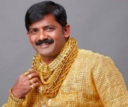 New dating tip: wear this $25,000 gold shirt | MINING.com | Gold and What Moves it. | Scoop.it