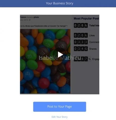 Facebook Lance un Outil Gratuit de Storytelling pour les Marques | communication numérique corporate | Scoop.it