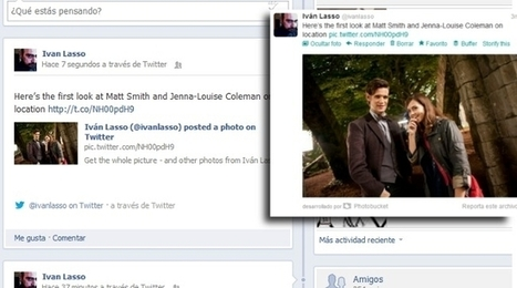 Twitter mejora la integración con Facebook incluyendo enlaces a hashtags, usuarios y fotos | Web-Social | Scoop.it