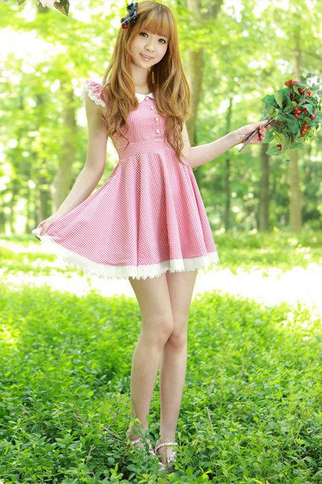 Sweet Plaid Mini Dress - OASAP.com | Sweet Lolita | Scoop.it