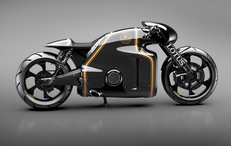 lotus announces their first motorcycle designed by daniel simon - designboom | architecture & design magazine | What Surrounds You | Scoop.it