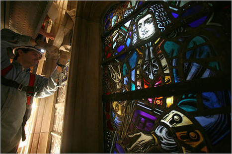 Color and Light - The New York Times > Art & Design > Slide Show > Slide 1 of 8 | Stained Glass | Scoop.it