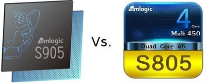 Amlogic S805 vs S905 Benchmarks Comparison | Embedded Systems News | Scoop.it