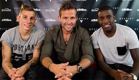 Yohan Cabaye, Rio Mavuba et Lucas Digne découvrent Destiny | Sponsoring Sportif | Scoop.it