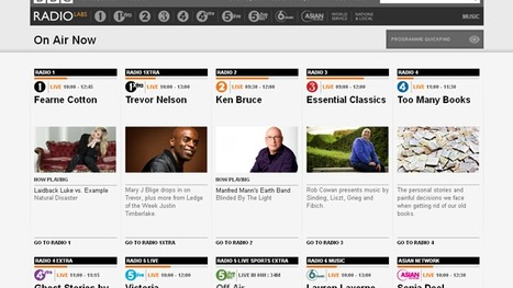 BBC - BBC Internet Blog: A New BBC Radio Homepage | Radio 2.0 (En & Fr) | Scoop.it