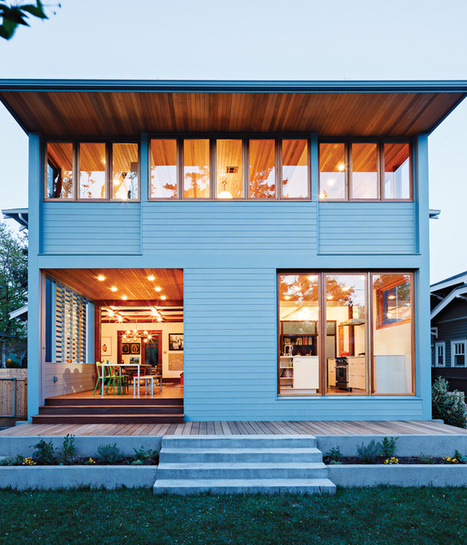 Slideshow: An Airy Addition to a Historic Boise Home | Dwell | Idées d'Architecture | Scoop.it