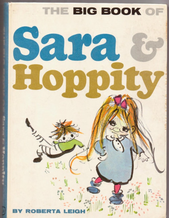 1962 Children's book. The Big Book of Sara & Hoppity. | Antiques & Vintage Collectibles | Scoop.it