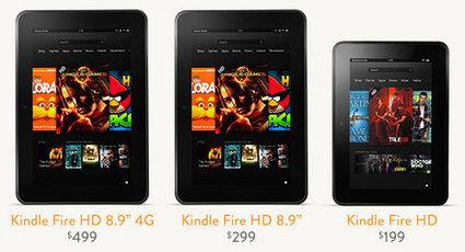 Kindle Fire HD la contre-attaque d'Amazon   Kindle Fire France - Communauté Kindle Fire   Kindle Fire France.Fr -  La communauté Kindle Fire   Scoop.it