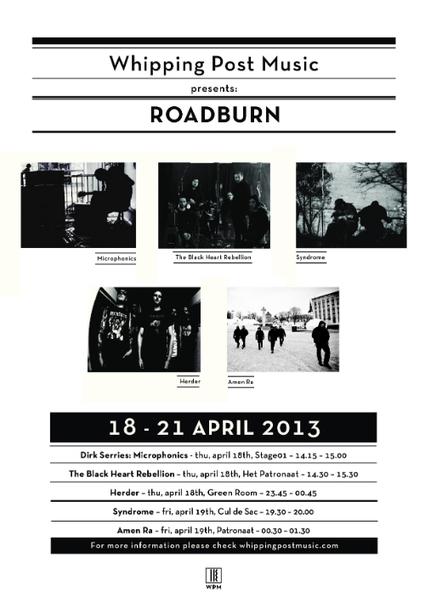 Whipping Post Music at Roadburn | Roadburn Festival 2013: 18-20 Abril, Tilburg | Scoop.it