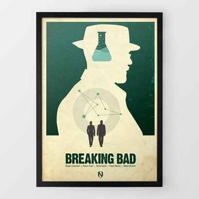 Breaking Bad Print by Needle Design at Firebox.com | fashion | Scoop.it