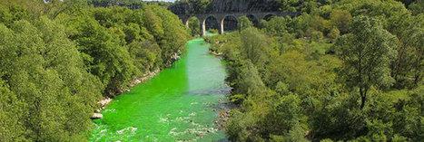 12 rivières françaises vert fluo pour sensibiliser à la pollution | Citizen Com | Scoop.it