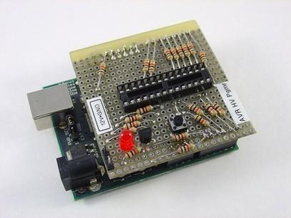 Arduino-based AVR High Voltage Programmer   Arduino progz   Scoop.it