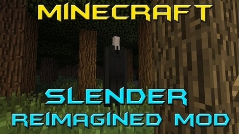 Slender Reimagined Mod 1.7.4/1.7.2/1.6.4 for Minecraft | my first | Scoop.it