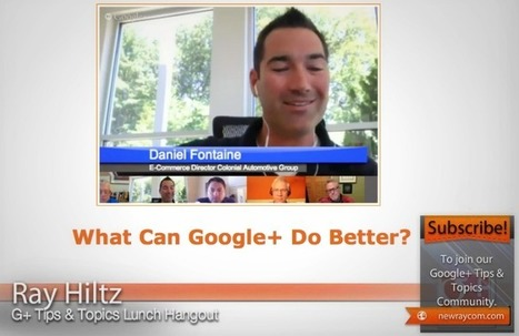 What Can Google+ Do Better? | Google - a Plus for Business | Scoop.it