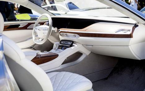 [CES] Mercedes & Hyundai mettent l'accent sur la voiture autonome | Objets connectés, quantified self, TV connectée et domotique | Scoop.it