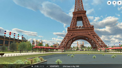 Explore Paris in 3D on your Whiteboard or iPad | Mundos virtuais | Scoop.it