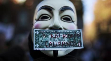 Anonymous : ces gamins bricoleurs contre lesquels les Etats ne peuvent guère lutter | Social Media and its influence | Scoop.it