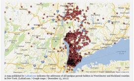 แผนที่บอกคนมีปืนชื่ออะไร, บ้านเลขที่เท่าไหร่   Convergence Journalism   Scoop.it