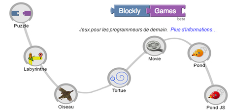 Blockly-Games | Ressources pour la Technologie au College | Scoop.it