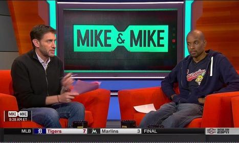 "ESPN Asked Bomani Jones to Cover Up the ""Caucasians"" Shirt He Wore on Mike & Mike 