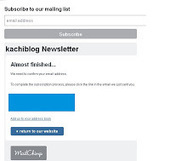 How to Embed and Build Email list Using Mailchimp in Blogger ~ KachiBlog Today's Technology Unlimited | How To | Scoop.it