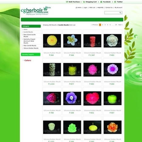 Buy Candle Moulds and Base Online | Herbals | Scoop.it