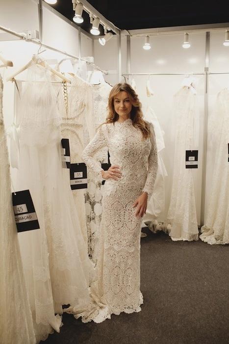 Tejidos estrella para los vestidos de novia 2014 - Hola | Enlaces maravillosos | Scoop.it