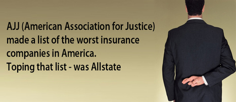 Allstate Ranked One of Worst Insurance Companies | The Law Offices Of Victor Dante, P.A. | All Serious Accidents Blog | Scoop.it