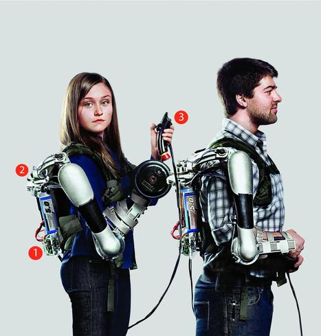 A powerful, portable, and affordable robotic exoskeleton | Technoculture | Scoop.it