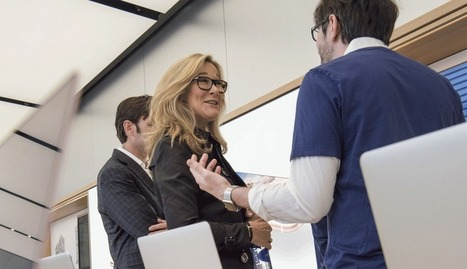 Apple Retail Chief Angela Ahrendts on Turning Stores Into Town Squares | Commerce and Payments | Scoop.it