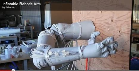 Lightweight, low-cost inflatable robotic arm | Robotics Frontiers | Scoop.it