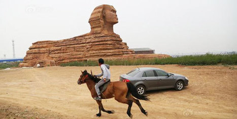 Chinese Sphinx replica raises Egyptian ire   Cairo Post   Egyptology and Archaeology   Scoop.it