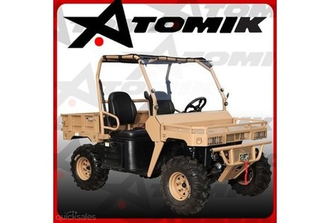 NEW ATOMIK 500cc AGMAX 4X4 MILITARY STYLE UTV ATV QUAD DIRT MOTOR FARM BIKE | FixingIntel | Scoop.it